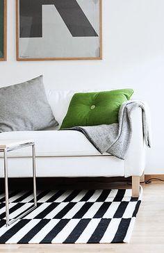 Via Hemnet | Grey and Green | Playtype | Ikea Stockholm | Hay