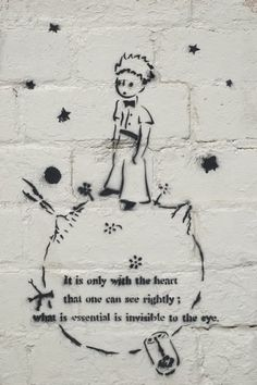 Le Petit Prince-Antoine de St. Exupery...my ALL time FAVORITE book EVER!!!