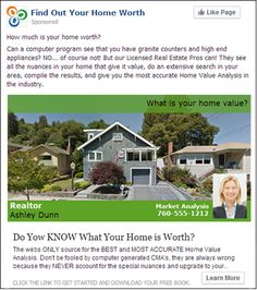 real estate facebook ads - Google Search