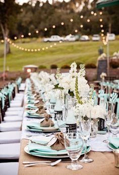 Lighting, Wedding Reception, Light Blue, Tan