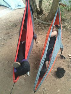 When backpacking there is no rest better, than the rest in your ENO.  #enohammocks