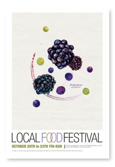 Local Food Festival : Hana Yoo // love this series. Really sweet delicate illustrations.