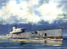 French submarine Surcouf