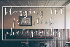 A stock photo can help take your post from bland to awesome. Take advantage of the awesome list that I've put together for you.