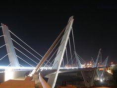 Abdoun Bridge - next to my house :) Donia, Amman, Bridge, Places, House, Jordan Spieth, Home, Bridge Pattern, Bridges
