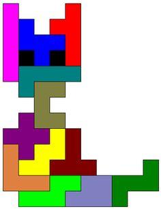 Resultado de imagem para tangram animais