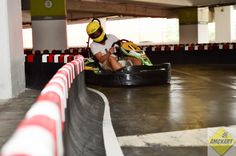 Indoor karting at Afi Palace Cotroceni Mall, 2nd floor Parking