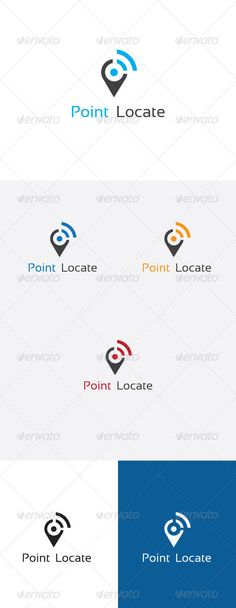 Point Locator Logo Design #GraphicRiver Wi-Fi Locator Logo Design Description – Professional logo design for wireless, communication, and network zone Details - Logo provided in 1 main color & 2 color variation black & white version included You can use it on any background color. Font used : Sansation .dafont /sansation.font Created: 24July13 GraphicsFilesIncluded: VectorEPS #AIIllustrator Layered: No MinimumAdobeCSVersion: CS Resolution: Resizable Tags: area #communication #connect…