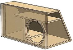 Order a custom subwoofer box blueprint design made specifically for your vehicle. Use the design as a guide to build your own custom subwoofer enclosure.