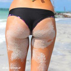Sandy Cheeks #cheeky #bikini #akwaswimwear