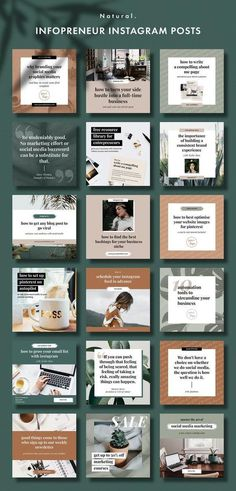 Website Design Tips Anyone Can Understand And Use Instagram Design, Instagram Feed Layout, Feeds Instagram, Instagram Banner, Instagram Grid, Instagram Post Template, Instagram Quotes, Instagram Posts, Social Media Template