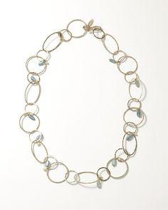 Vintage loops necklace