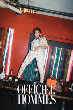 Joo Ji Hoon - L'Officiel Hommes Magazine August Issue '13