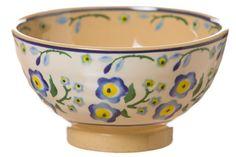 Nicholas Mosse - 'Forget Me Not' bowl (Irish Pottery)