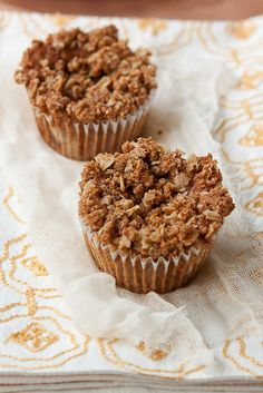 Peanut Butter and Jelly Streusel Muffins by Back to the Cutting Board, via Flickr