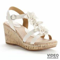 a30886fecc9 SONOMA life + style Platform Wedge Sandals - Women- http   www. Kohl s