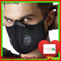 masque pour enfant anti virus fille