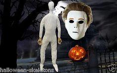 Halloween Michael Myers Mask Dummy Set Halloween Prop Combo