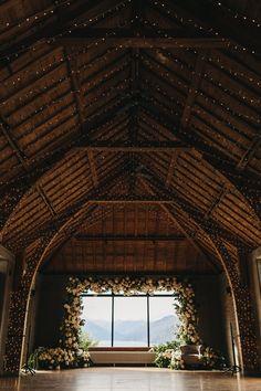 Nicole Warne of Gary Pepper Girl Had A Wild Garden Wedding in New Zealand