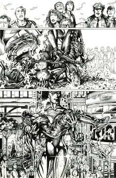 barry windsor smith original art | This powerful page from the onlystory BWS drew for Image ...