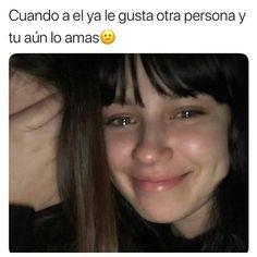Im Sad, Sad Love, Memes Status, Sad Girl, Mood, Spanish Quotes, In My Feelings, Couple Goals, Solitude