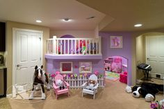 Basement Kids Play Area - traditional - basement - denver - Finished Basement Company
