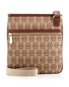 MICHAEL Michael Kors  Monogram Large Crossbody. pretty good!!