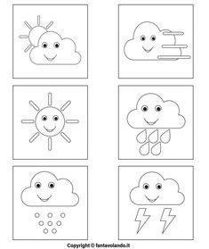Teaching Weather, Kindergarten Portfolio, Floral Doodle, Doodles, English Activities, Learning Italian, School Decorations, Pen Art, Social Studies
