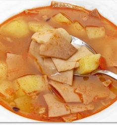 Healthy Soup Recipes, Baby Food Recipes, Snack Recipes, Snacks, Cod Fish, Winter Soups, Hungarian Recipes, Slow Cooker Soup, Soups And Stews