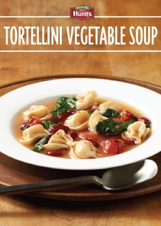 Tortellini Vegetable Soup – make this satisfying meatless soup for ...