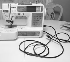 how to use an embroidery sewing machine