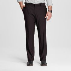 Men's Big & Tall Classic Fit Suit Pant Black