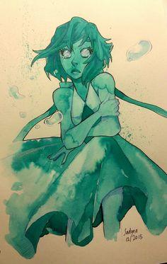 Steven Universe Fan Art! — sadynaxart: Lapis lazuli