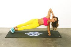 Image result for Side Plank Hip Lifts gif
