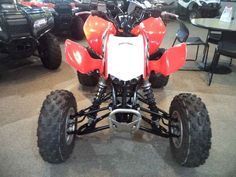 New 2014 Honda TRX 450R (Elec Start) ATVs For Sale in Arizona. 2014 Honda TRX 450R (Elec Start), 2014 Honda® TRX®450R (Elec Start) Performance That s Been Proven Time And Again. <p> Availability: September, 2013. If you re looking for a sport ATV with a serious racing pedigree, then you ve found it: the TRX®450R.</p><p> Winner of multiple Baja 1000s, the TRX®450R offers up an ideal mix of performance, handling and power, thanks to a MX-inspired Unicam® liquid-cooled four stroke engine…