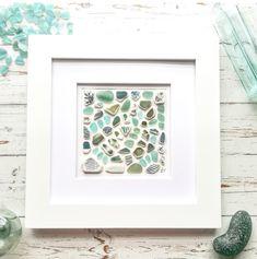 Sea Glass Necklace, Sea Glass Jewelry, Glass Earrings, Sea Glass Beach, Sea Glass Art, Broken Bottle, Beach Art, Gift For Lover, A Table