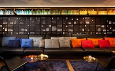 concrete architectural associates have completed the design of the recently opened INK. Hotel Amsterdam, a new member in the Accor M Gallery Collection