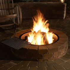 Rockwood Grand Fire Ring with Cooking Grate #LearnShopEnjoy
