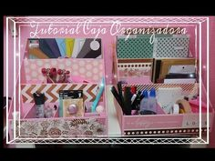 YouTube Organization, Organizing, Scrapbook, Boxes, Diy, Youtube, 15 Years, Cartonnage, Manualidades