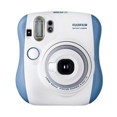 Fujifilm instax mini 25 camera azul por 100 €  Con la nueva Instax Mini 25 obtendrás tus fotografías, del tamaño de una tarjeta de crédito, en unos instantes. Las lentes #Fujinon combinadas con la #película #Instax Mini, dan como resultado fotografías instantáneas de alta #calidad.   #Camara #vintage #chollos #ofertas