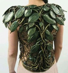 Tree armor / barkskin perfect for a druid / ranger for LRPs, cosplay or inspiration to decorate your miniatures fantasy roleplaying games DnD or Pathfinder Larp, Steampunk, Leather Armor, Elvish, Fantasy Armor, Faeries, Costume Design, Wearable Art, Cosplay Costumes