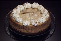 Eggnog Cheesecake from Bread Winners Cafe and Bakery in Dallas, TX