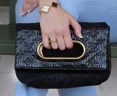 ef7d59b1eb3d Louis Vuitton Motard After Dark Black Suede Clutch- Shop our Boca Raton  showroom for more Louis Vuitton clutches! Sell Louis Vuitton bags for cash!