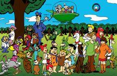 Hanna-Barbera Universe_color by TheVampireMouse.deviantart.com on @deviantART