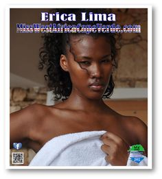 Erica Lima the new Miss West Africa Cape Verde 2012