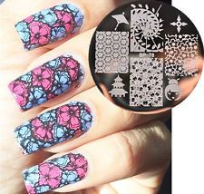 Newly BORN PRETTY BP78 Oriental Cherry Nail Art Stamping Template Image Plate