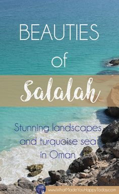 Salalah is one of the most wild and natural places we've seen in Oman.
