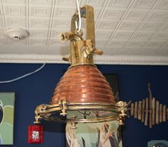 Light me up! Fox lights, large, brass and copper - popular in kitchens and bars, hard to get. #Annapolis