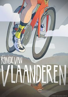 Tour of flanders by Ben Scruton