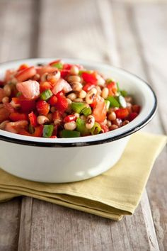 Check out what I found on the Paula Deen Network! Black-Eyed Pea Salad http://www.pauladeen.com/recipes/recipe_view/black_eyed_pea_salad